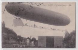 PARIS - Le Santos-Dumont - Zeppelin - Dirigeable - LL 510 - Dirigeables
