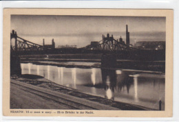 Krakow - III-ci Most W Nocy - III-te Brücke In Der Nacht - Polen