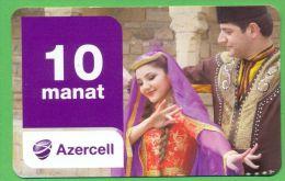 Azerbaijan GSM Prepaid Card - Azercell 10 Manat /Used, But Like UNC / Read Description - Azerbaïjan