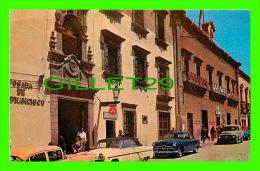 SAN MIGUEL ALLENDE, MEXIQUE - POSADA DE S. FRANCISCO Y PALACIO MUNICIPAL - ANIMÉE VOITURES - - Mexico