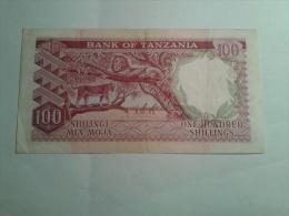100 SHILLINGS - Tanzania