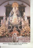 Postal 011693: Virgen Ntra Sra De Las Maravillas, Patrona De Bobadilla, Malaga - Unclassified
