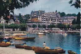 OUCHY-LAUSANNE LE PORT ET LE BEAU RIVAGE PALACE (dil60) - Suisse