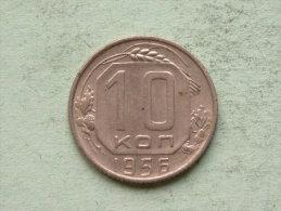 1956 - 10 KOPEK / Y# 116 ( For Grade, Please See Photo ) !! - Russie