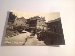 TORINO - Borgo Medioevale - Cartolina FG BN V 1965 - Italie