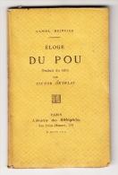 HEINSIUS (D). Eloge Du Pou. Paris, Jouaust, 1870, Un Petit Volume In-32 (12 X 7 Cm), 45 Pages, Broché. - Frontispice Gra - Books, Magazines, Comics