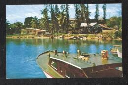 Océanie La Baie Des Pecheurs New Caledonia Nouvelle-Calédonie SMALL SIZE POSTCARD UNUSED - Nouvelle-Calédonie