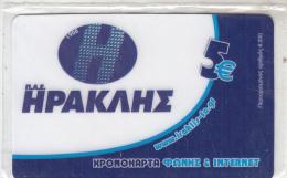 GREECE - Hercules FC, Algonet Prepaid Card 5 Euro, Tirage 6000, Mint - Greece