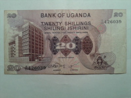 20 SHILLINGS - Ouganda