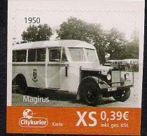 Deutschland Allem. Fed.  Citypost Sachsen  Autous Magirus 1950  **MNH - Bus