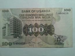 100 SHILLINGS - Ouganda