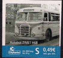 Allem. Fed.  Citypost Sachsen  Autous Zimet H6B 1955  **MNH - Bus