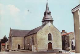 Cpsm Chateauthébaud  L'église - France