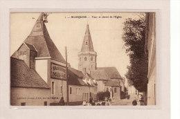 MARQUISE (62) / EDIFICES / MONUMENTS / Tour Et Chevet De L'Eglise  / Animation - Marquise