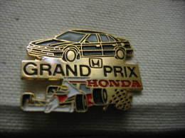 Pin´s Du Grand Prix HONDA - Honda