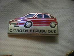 Pin´s Concessionaire CITROEN République. ZX - Citroën