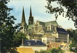 CHARTRES La Cathédrale  - 2 Scans - Chartres