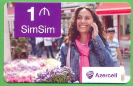 Azerbaijan GSM Prepaid Cards - Azercell 1 Manat /Used,but Like UNC / - Azerbaïjan