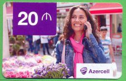 Azerbaijan GSM Prepaid Card - Azercell 20 Manat /Used,but Like UNC / - Azerbaïjan