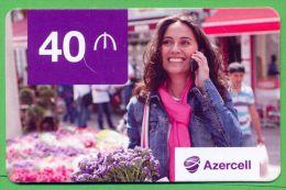 Azerbaijan GSM Prepaid Card - Azercell 40 Manat /Used,but Like UNC / - Azerbaïjan