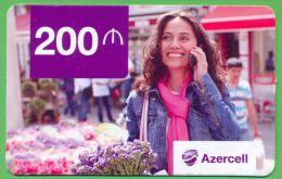 Azerbaijan GSM Prepaid Card - Azercell 200 Manat /Used,but Like UNC / Very Rare - Azerbaïjan