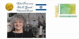 Spain 2013 - Nobel Prize 2009 Chemical - Ada E.Yonath/Israel Special Cover - Nobelpreisträger