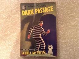 Vintage PB - Dark Passage By David Goodis (1946 Dell Mystery) - Books, Magazines, Comics