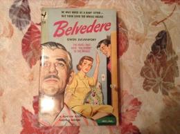 Vintage PB - Belvedere By Gwen Davenport  [1949 Mass Market Paperback] - Books, Magazines, Comics