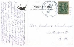 9809  NH West Brentwood Cancel  DPO  RF 5 Kingston The Plains - United States