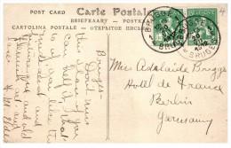 9960  Belgium Bruges  1912 Postmark Cancel - Marcophilie