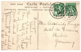 9960  Belgium Bruges  1912 Postmark Cancel - Autres