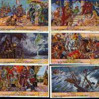 (bouillon) LIEBIG « Les Lusiades » - Série Complète De 6 Chromos - Liebig