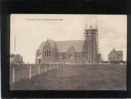22 Nouvelle église à St Jacut De La Mer édit. Moisan Dubois , église En Construction , échaffaudages - Saint-Jacut-de-la-Mer