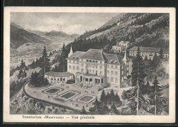 CPA Massevaux, Sanatorium, Vue Générale - France