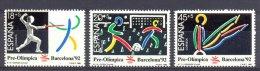 Mtz018 SPORT OLYMPISCHE SPELEN VOETBAL FOOTBALL SOCCER PRE-OLYMPIC GAMES BARCELONA SPANJE ESPANA 1989 PF/MNH  VANAF1EURO - Zomer 1992: Barcelona