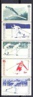 Mtz020 SPORT SKIËN SKIING ZWEDEN SCHWEDEN SVERIGE 1974 PF/MNH  VANAF1EURO - Skisport