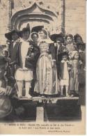 BATZ SUR MER   GRANDE FETE ANNUELLE DU SEL  ET DES PALUDIERS 27 AOUT 1911 LES MARIES ET LEUR SUITE - Batz-sur-Mer (Bourg De B.)