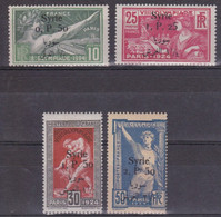 SYRIE - YVERT N°149/152 * - COTE = 168 EUROS - CHARNIERES  - JEUX OLYMPIQUES - Syrie (1919-1945)