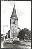 ENSCHEDE N.H.Kerk Veel Oude Auto's * 1964 - Enschede