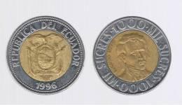 ECUADOR -  1000  Sucres 1996  KM99 - Ecuador