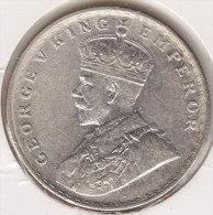 @Y@    BRITISH India 1  Rupee 1919     (2589) - India