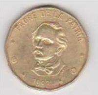 (350) REPUBLIQUE DOMINICANA ++ 1 PESO ++ 1993 - Dominicaine