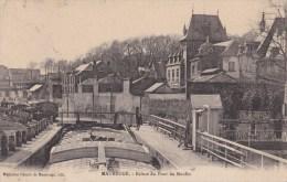 59 MAUBEUGE   ECLUSE Du PONT Du MOULIN  Sur La Sambre  PENICHES  Transport  Fluvial  Batellerie 1912 - Maubeuge