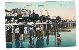 D4078     BORKUM : Strandpromenade - Borkum