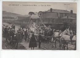 LE CREUSOT - Cavalcade Du 22 Mars - Char Des Reines - Très Bon état - Le Creusot