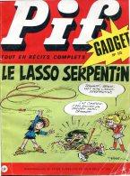 Pif Gadget  N°131 (Vaillant N°1369) -  Loup Noir - Docteur Justice - Pif Gadget