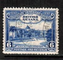 BRITISH GUIANA    Scott  # 208  VF USED - British Guiana (...-1966)