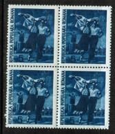 ROMANIA    Scott  # 784**  VF MINT NH BLK. Of 4 - 1948-.... Republics