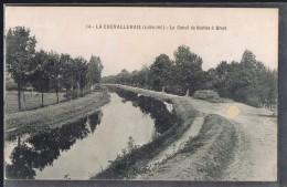 LA CHEVALLERAIS . Le Canal De Nantes à Brest . - Francia