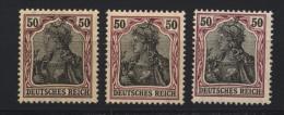 D.R.Nr.91,II,3 Farbtöne,xx (133) - Germany